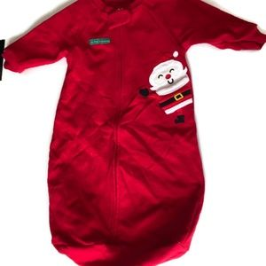 My First Christmas Baby Boy outfit Santa Claus